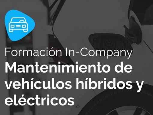 Personal Certificado en mantenimiento de vehículos Eléctricos y Híbridos