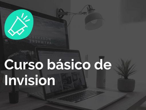 Curso Diseño gráfico: Invision