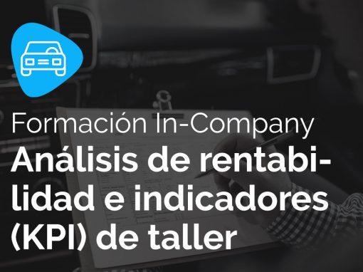 Análisis de rentabilidad e indicadores (KPI) de taller