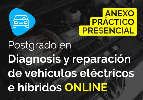 Módulo presencial en diagnosis y reparación de vehículos eléctricos e híbridos