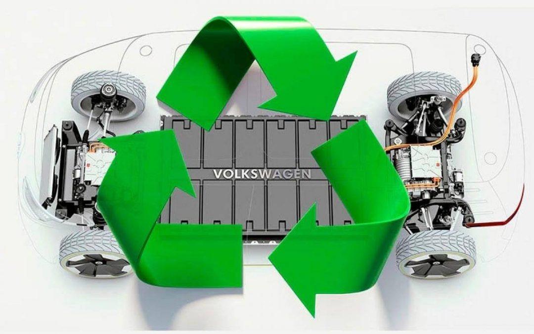 Como se reciclan las baterías eléctricas de los coches