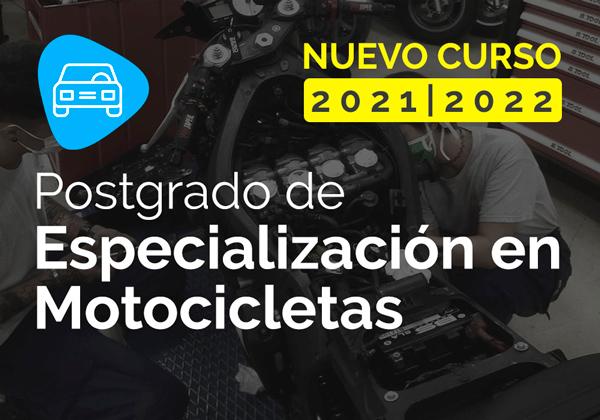 Postgrado de especialización en Motocicletas