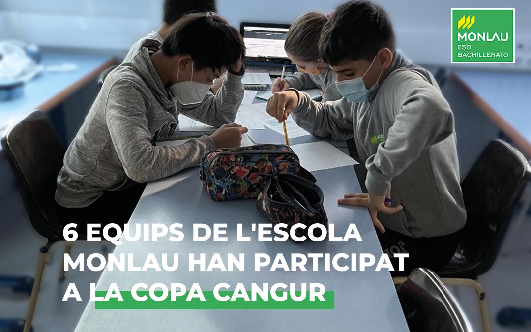 Un any més Monlau participa a la Copa Cangur