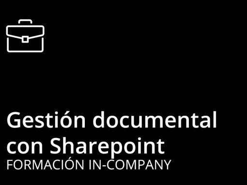 Curso de Sharepoint – Gestión Documental