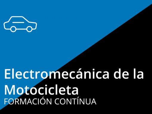 Curso Electromecánica de la Motocicleta (Nivel 1)