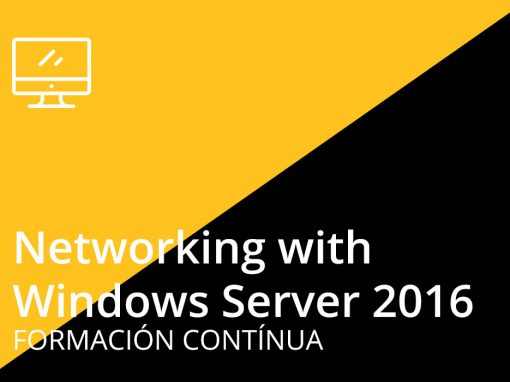 Curso de Networking con Windows Server 2016