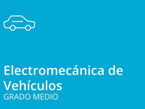 Ciclo de Grado Medio en Electromecánica de Vehículos (automóviles y motocicletas)