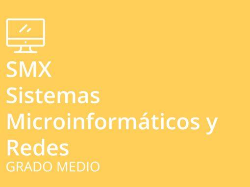 Ciclo formativo de Grado Medio en Sistemas Microinformáticos y Redes (SMX)