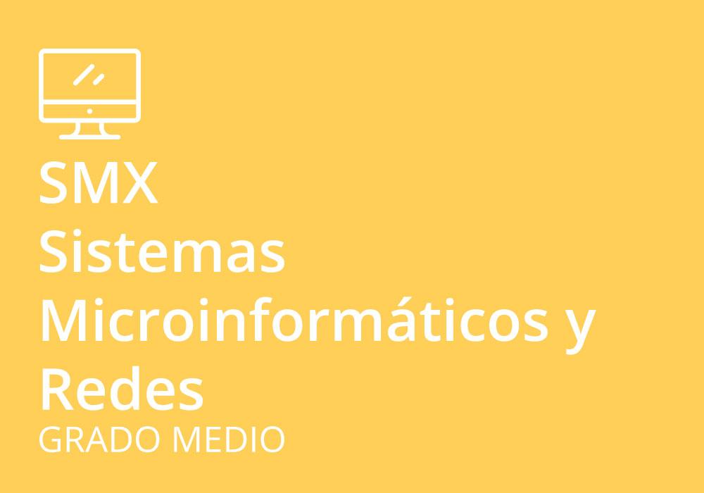 Ciclo Formativo De Grado Medio En Sistemas Microinformáticos