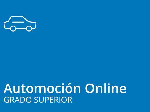 Ciclo de Grado Superior de Automoción Online