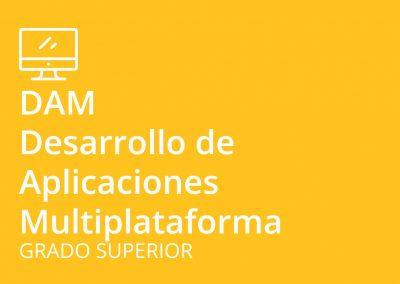 Ciclo formativo de Grado Superior en Desarrollo de Aplicaciones Multiplataforma (DAM)