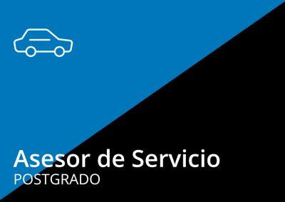 Postgrado de Asesor de Servicio