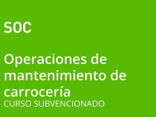 Operaciones Auxiliares de Mantenimiento de Carrocería de Vehículos (nivel 1)