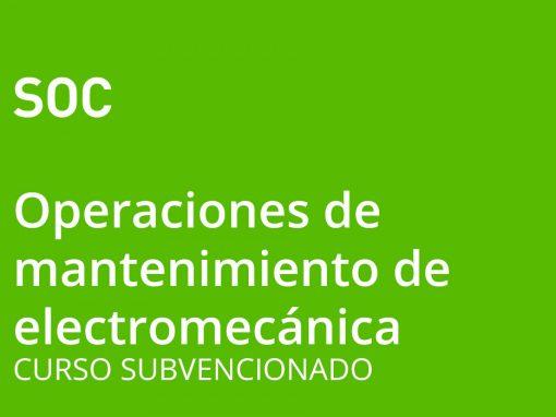 Operaciones Auxiliares de Mantenimiento de Vehículos Electromecánicos (nivel 1)