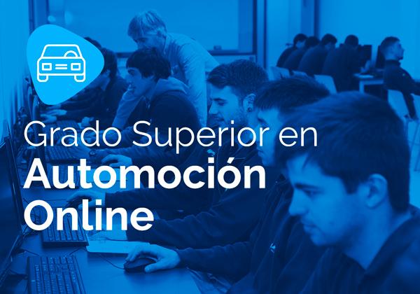 Ciclo Formativo de Grado Superior en Automoción Online