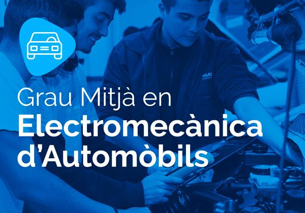 Cicle Formatiu de Grau Mitjà en Electromecànica d'Automòbils