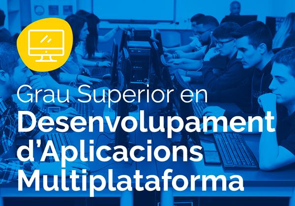 Cicle Formatiu de Grau Superior en Desenvolupament d'Aplicacions Multiplataforma – DAM
