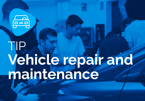 TIP Vehicle repair and maintenance