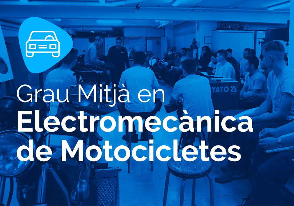 Cicle Formatiu de Grau Mitjà en Electromecànica de Motocicletes