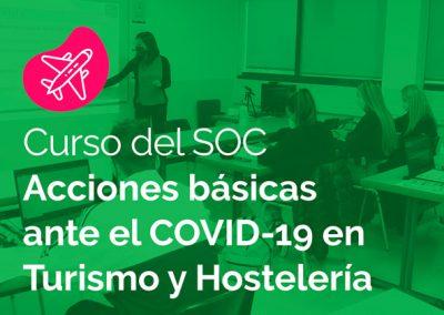 SOC Acciones básicas ante el COVID-19 en Turismo y Hostelería