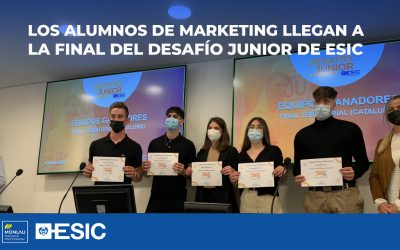 Los alumnos de Marketing llegan a la final del Desafío Junior de ESIC